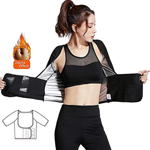FLYJJ Slimming Vest for Women Waist Trainer Fat Burner Top Thermo Tummy Control Body Shaper,M 1