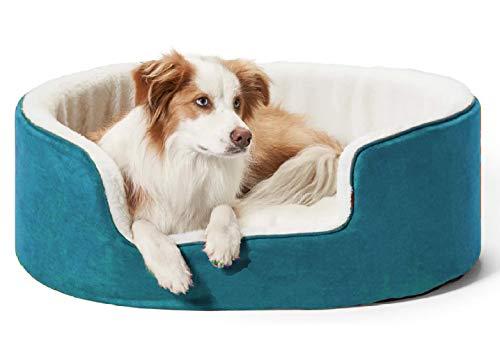 Petslover Warm Fleece Winter Beds Round Shape Reversible Ultra Soft Ethnic Designer (Export Quality)...
