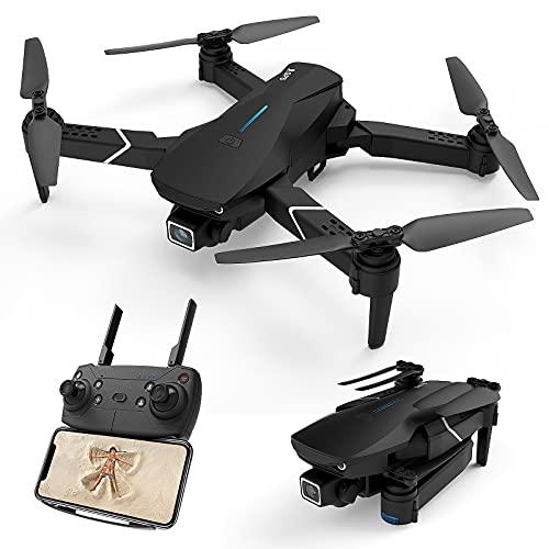 DOMIBOT 520-S3 Drone con Telecamera 4K Pieghevole GPS 5G WiFi Controllo App RTF Principiante Mantenimento dell'Altitudine modalit Senza Testa