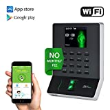 WL20 Biometric Fingerprint Time Attendance Terminal Time Clock Machine Attendance Machine Payroll Recorder Employee Checking-in Recorder