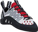 La Sportiva Women's Tarantulace Rock Climbing Shoes, Grey/Hibiscus, 38