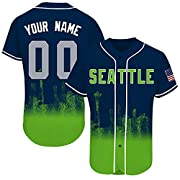 High Quality: They Are Soft, But Not Flimsy, Durable But Not Heavy, Extremely Comfortable. All In All, You Can Expect A Super Comfortable, Ultra-Durable Jersey! Custom Jersey : Designed with your favorite team's colors, you can customize any name & n...