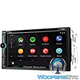 CPAA-70D - Power Acoustik in-Dash 2-DIN CD, DVD, Digital Media Car Stereo Receiver with Apple Carplay, Android Auto, Bluetooth Connectivity and USB Playback
