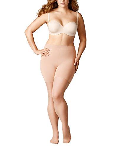 FALKE Damen Strumpfhosen Beauty Plus 20 Denier - Transparente, Matt, 1 Stück, Beige (Powder 4069), Größe: A SHORT
