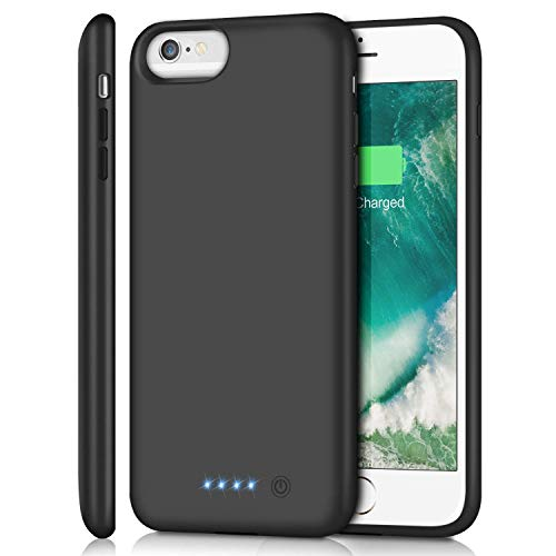 Battery Case for iPhone 6s Plus/6 Plus/7 Plus/8 Plus 8500mAh, Rechargeable Charging Case for iPhone 6Plus Extended Battery Pack Charger Apple 6s Plus Portable Power Bank Cover for 7Plus 8Plus (5.5)