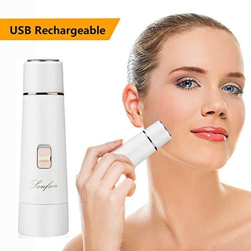 Facial Hair Removal for Women Rechargeable - 2019...