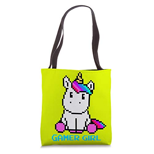 Cute Unicorn Gaming Video Games Character Gamer Girl Gift Tote Bag