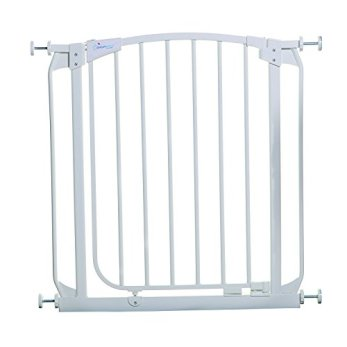 Dreambaby Chelsea Auto Close Safety Gate (White, 28-32 inches)