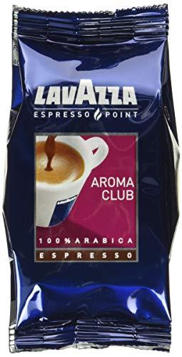 Lavazza Espresso Point Capsule Caffè Aroma Club Espresso, 50 Astucci da 2 Capsule, 100 Capsule