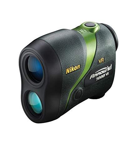 Nikon Arrow ID 7000 VR Bowhunting Laser Rangefinder, Green -...