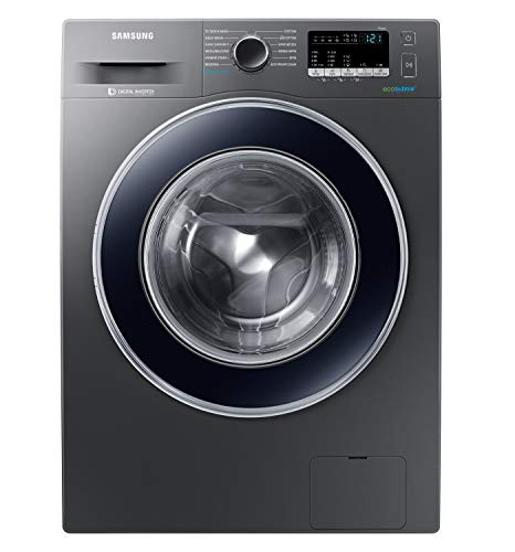 Samsung 8 Kg Inverter 5 star Fully-Automatic Front Loading Washing Machine (WW80J42G0BX/TL, Inox,...