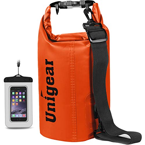 Unigear Dry Bag Waterproof, Floating and Lightweight Bags for Kayaking, Boating, Fishing, Swimming...