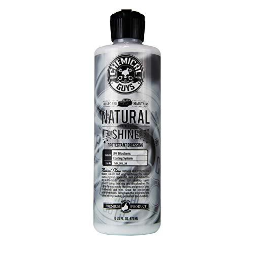 Chemical Guys TVD_201_16 - Natural Shine, Satin Shine Dressing for Plastic, Rubber and Vinyl (16 oz)