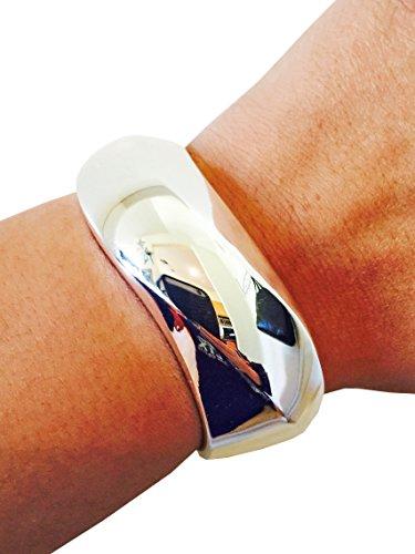 Fitbit Bracelet for Fitbit Flex - The Jeanene Silver Wavy Fitbit Bracelet