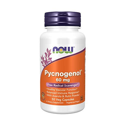 Now Foods Pycnogenol Proanthocyanidinen 60mg 50 Kapseln