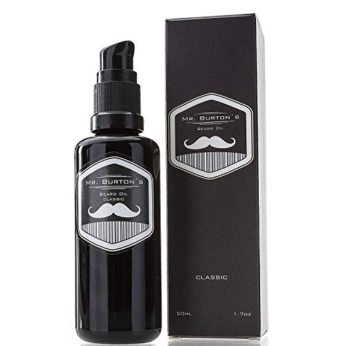 Mr. Burtons 'fresh' - oilo da barba - Made in Germany