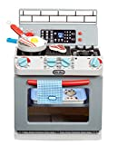 Little Tikes First Oven Realistic Pretend Play Appliance for Kids, Play Kitchen with 11 Accessories and Realistic Cooking Sounds, Unique Toy Multi-Color, Ages 2+