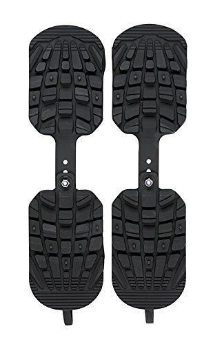 Sidas Erwachsene Boot Traction Schutz Schuhe Ski, schwarz, One Size