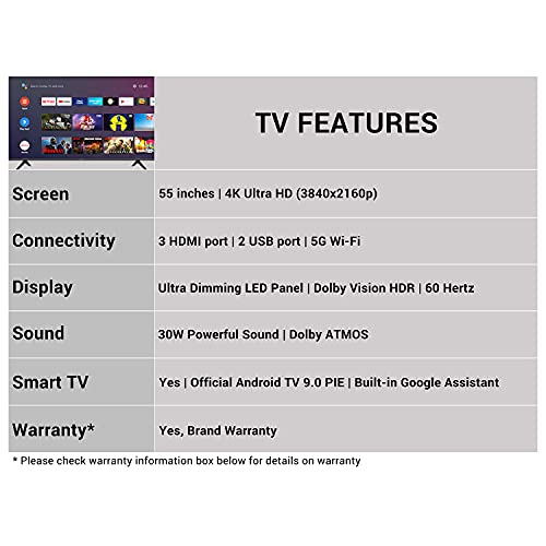 4104vRZ e0S Hisense 139 cm (55 inches) 4K Extremely HD Sensible Licensed Android LED TV 55A71F (Black) (2020 Mannequin) | With Dolby Imaginative and prescient and ATMOS