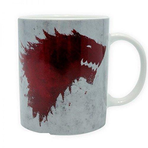 Game of Thrones - taza 320 ml - The North recuerda - genial y estable se presenta en una caja de regalo!