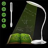 Bureau LED, Lampe Portable Flex Flexible Lampes Lampadaire LED Lampes Lampes Dimmable Touch 3...