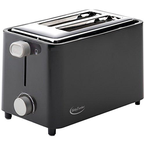 Betty Crocker BC-2605CB RA28686 2-Slice Toaster (Black)