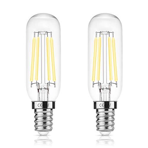 DORESshop E14 T25 LED 4W Lampadina per cappa da cucina, 400LM, Sostituzione a incandescenza 40W,...