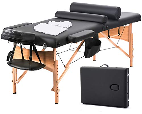 BestMassage Massage Table Massage Bed Spa Bed 73 Inch...