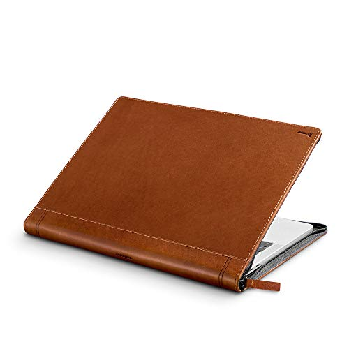 Twelve South Journal for MacBook 13' | Luxury leather case/sleeve with interior pocket for MacBook Pro with Thunderbolt 3 (USB-C) and MacBook Air Retina