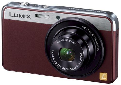 Panasonic デジタルカメラ ルミックス XS3 光学5倍 ブラウン DMC-XS3-T
