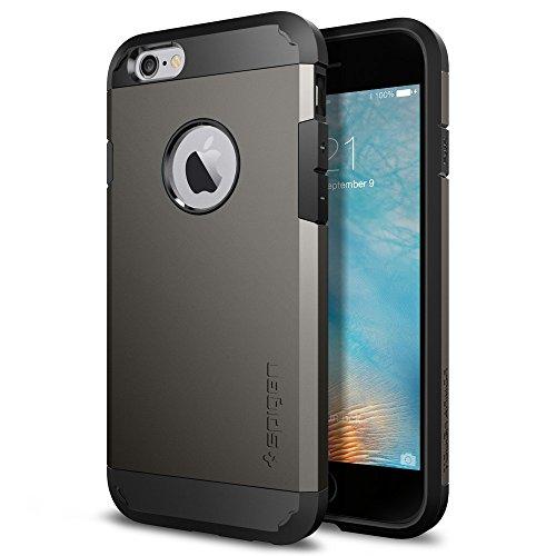 【Spigen】 iPhone6S ケース / iPhone6 ケース タフ・アーマー (ガンメタル SGP11612)