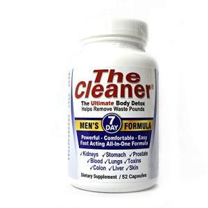 The Cleaner 7Day Men's Formula Ultimate Body Detox (52 Capsules) 8 - My Weight Loss Today