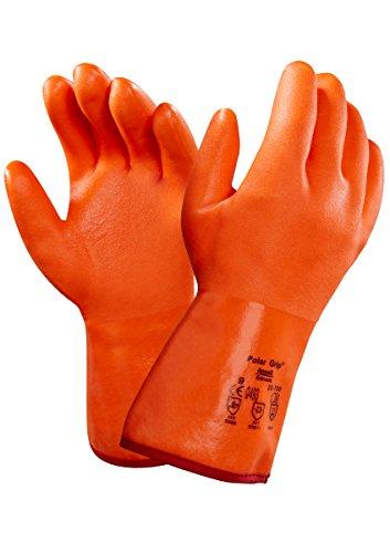 Ansell Polar Grip 23-700 Guanto per Usi Speciali, Protezione Meccanica, Arancione, Taglia 10...