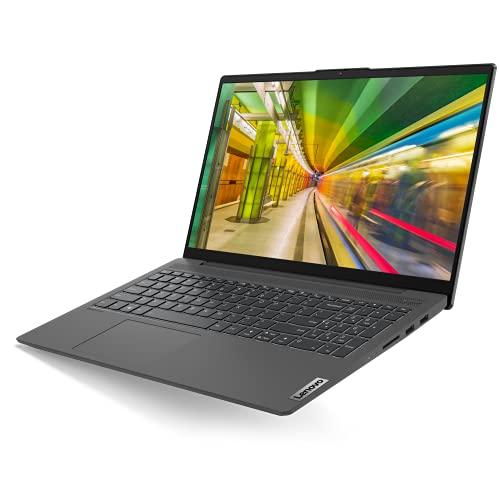 Lenovo IdeaPad 5i Ordinateur Portable Ultraslim 15.6'' Full HD Gris graphite (Intel Core i5 11e gén, RAM 8Go, SSD 256Go, Intel Iris Xe Graphics, Windows 10) - Clavier AZERTY (français)