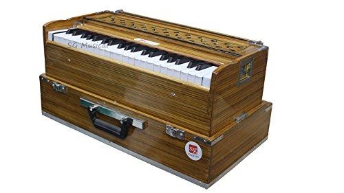 SG Musical - SGM04 3 1/2 Octave Folding Harmonium (Bass Reed, Male Reed)