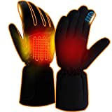 Men Woman Heated Work Gloves Battery Electric Gloves Hand Warmers Heating Gloves Rechargeable with 3...