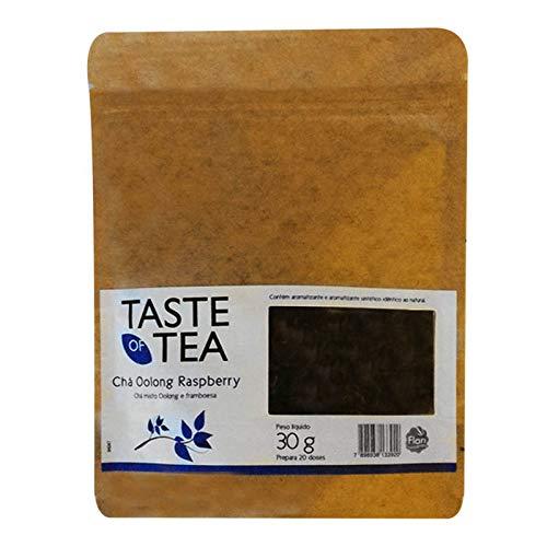 Cha misto oolong framboesa bag 30gr taste of tea