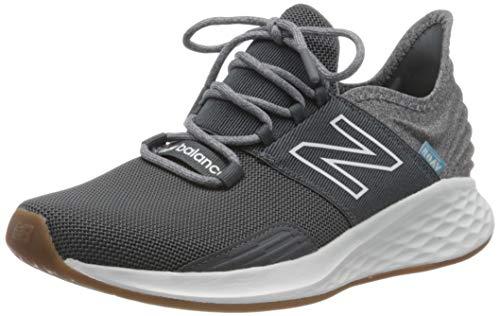 New Balance Men's Fresh Foam Roav V1 Sneaker, Lead/Light Alluminum, 11 M US