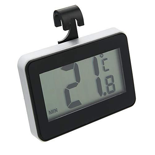 Pmall [Aggiornato] Termometro per Frigorifero Termometro Digitale per Frigorifero, Termometro Digitale per congelatore Frigorifero con Display LCD Facile da Leggere (Appeso, sospeso e Magnetico)
