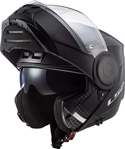 LS2, Casque modulable moto Scope Solid mat black, Taille XXL