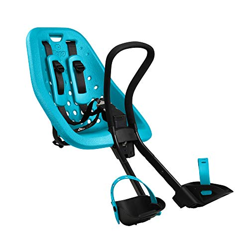 Thule Yepp Mini Seggiolino da Bici Anteriore al Manubrio, colore Blu Oceano