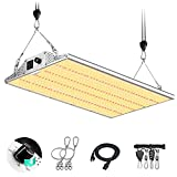 Yehsence Y2000 LED Grow Light 4x4ft Coverage, Upgraded Daisy Chain Grow Lights for Seed Starting, Dimmable Full Spectrum Plant Grow Lamps for Indoor Plants Veg and Flower with 648pcs LEDs.