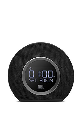 Product Image 2: JBL Horizon - Bluetooth Clock Radio with USB Charging and Ambient Light - Black
