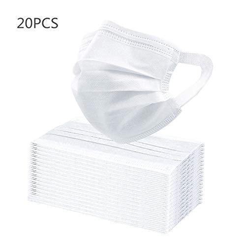 DDY Face Cover (20PCS) (20PCS-White)