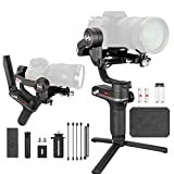 Zhiyun WEEBILL S Estabilizador Gimbal Palmar de 3 Ejes para cámaras Mirrorless, Smartphone, Motor Mejorado del 300% en comparación con Zhiyun Weebill Lab, Soporte máximo 3 kg (Bolsa estándar)