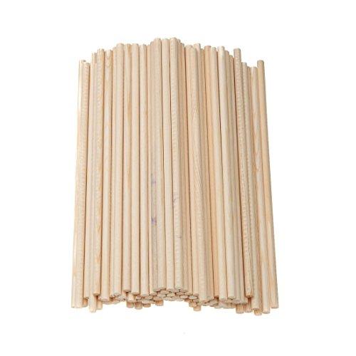 50 Holzstäbe 15 cm