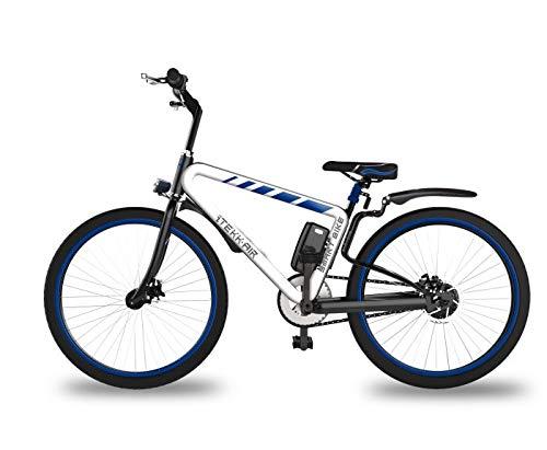 Itekk Smart, E-Bike Unisex Adulto, Blu, M