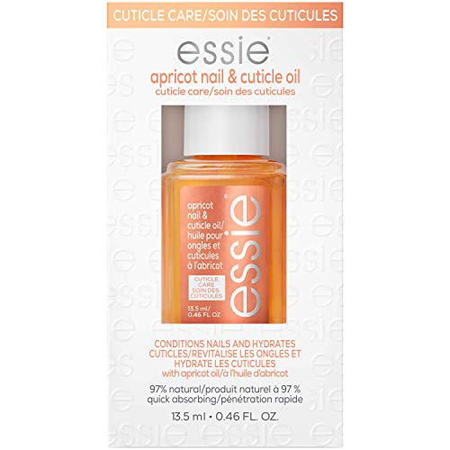 essie, Care Treatment Hydrator Nourish + Soften fl. Oz., Apricot Cuticle Oil, 0.46 Fl Oz