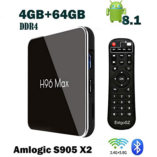 H96 Max X2 TV BOX 4GB DDR4 Ram 64GB ROM