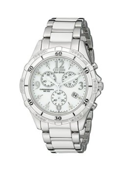 Citizen Women's Eco-Drive Chronograph Watch with Diamond Accents, FB1230-50A